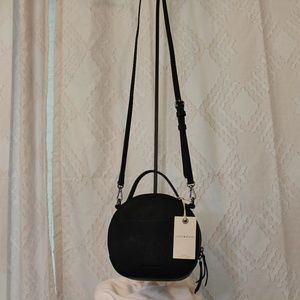 NWT Lucky Brand Ellie Circle Crossbody Leather Bag